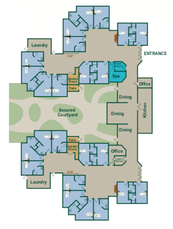 Peabody Memory Enhancement Map