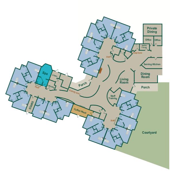 Long Term Care Map