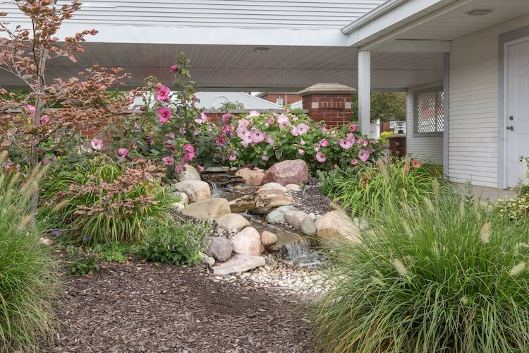 Independent Living Courtyard