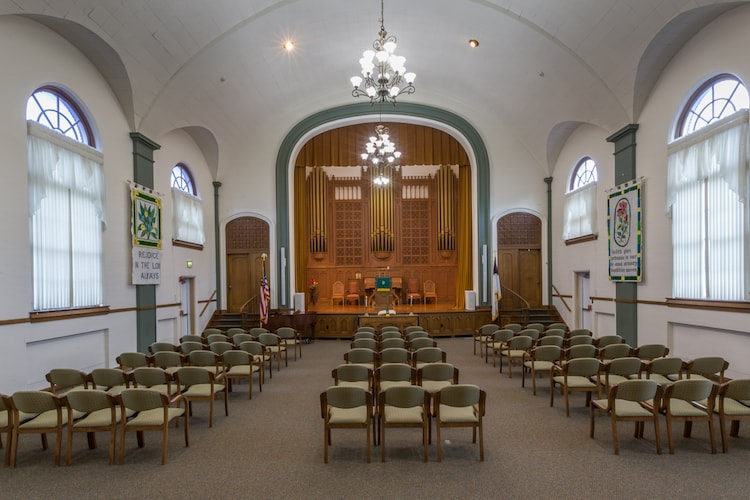 The peabody chapel area