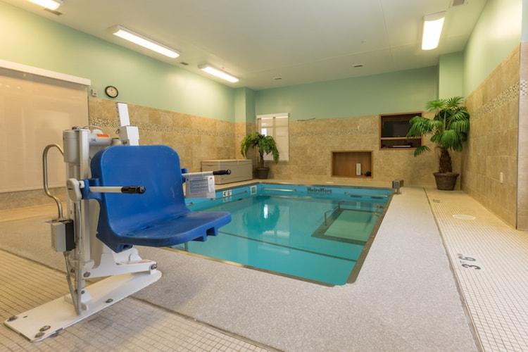 Peabody hydroworx pool