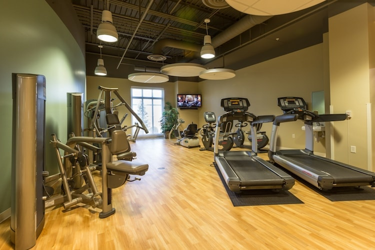 Peabody exercise area