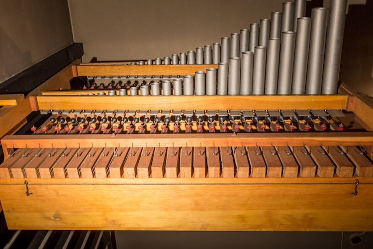 An organ that can be found in the peabody chapel