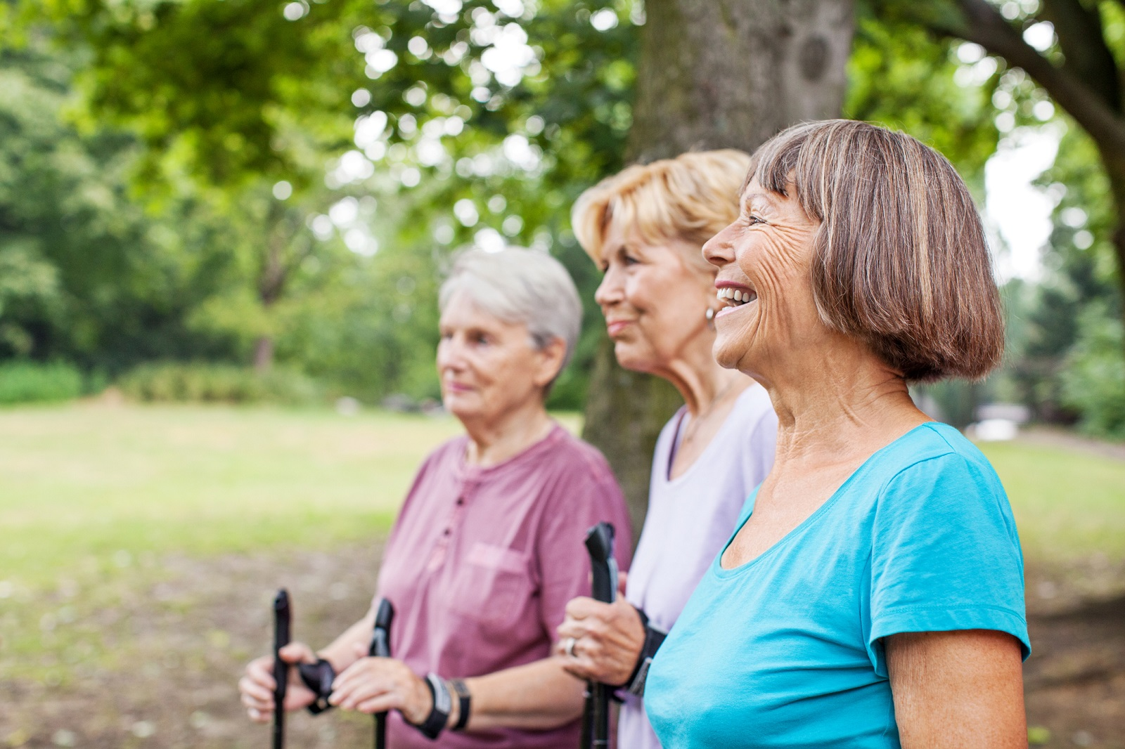 Seniors staying active to prevent a fall