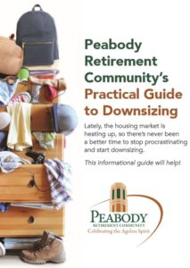 Peabody Retirement Community's Practical Guide to Downsizing