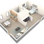 Cherry Hill Assisted Living One Bedroom