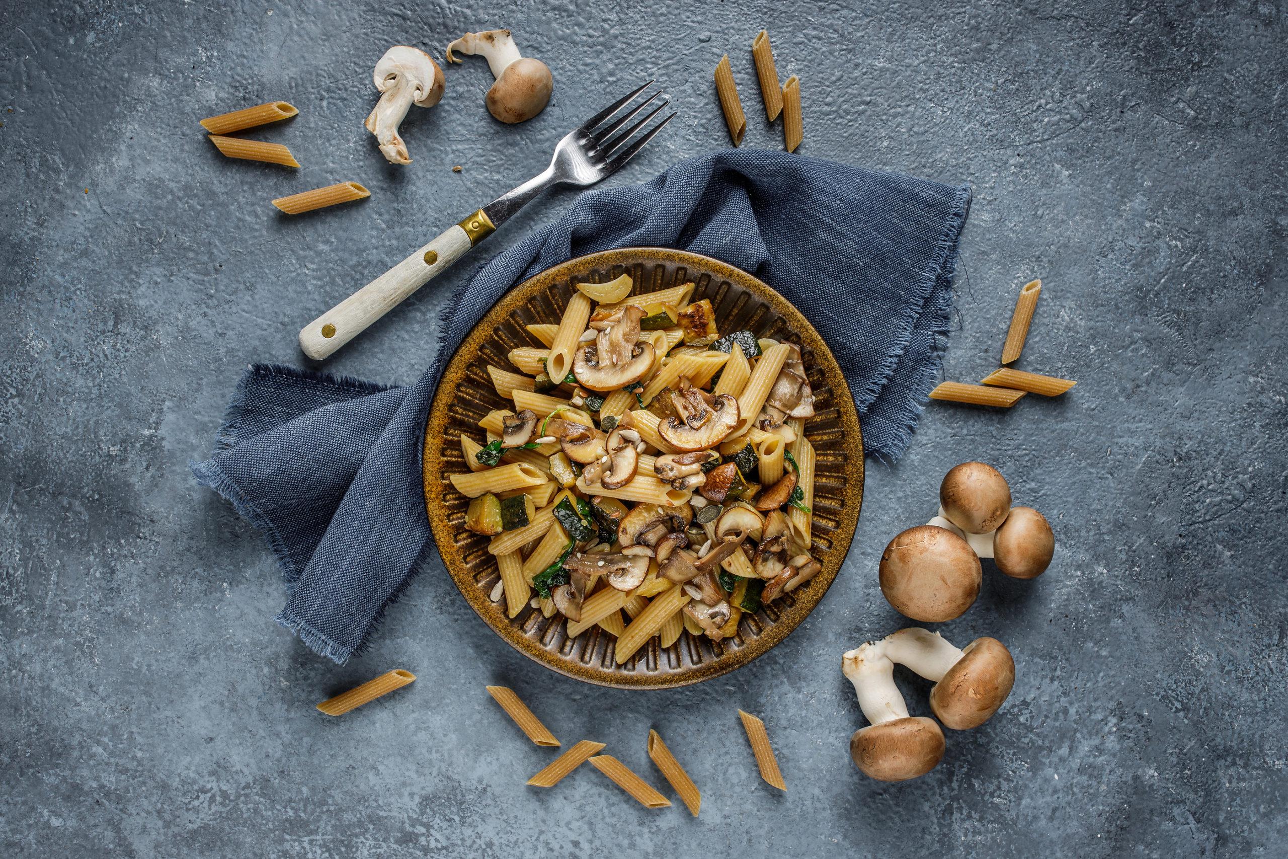 Creamy Mushroom Penne Meal Kit